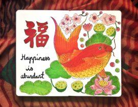 Happiness is abundant.