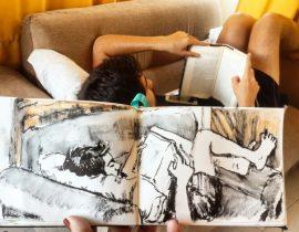 Dario leyendo