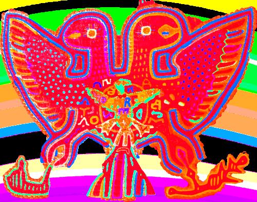2 Headed Eagle from Mola