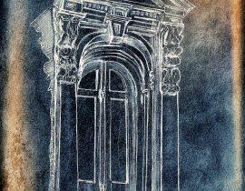 Italianate doorway, Brooklyn Heights, NY