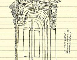 Italianate doorway – draft