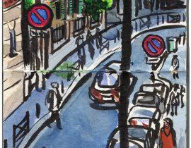 Paris, France: Rue Boileau.