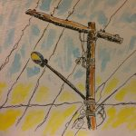 Random telephone pole