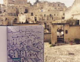 My travel sketch