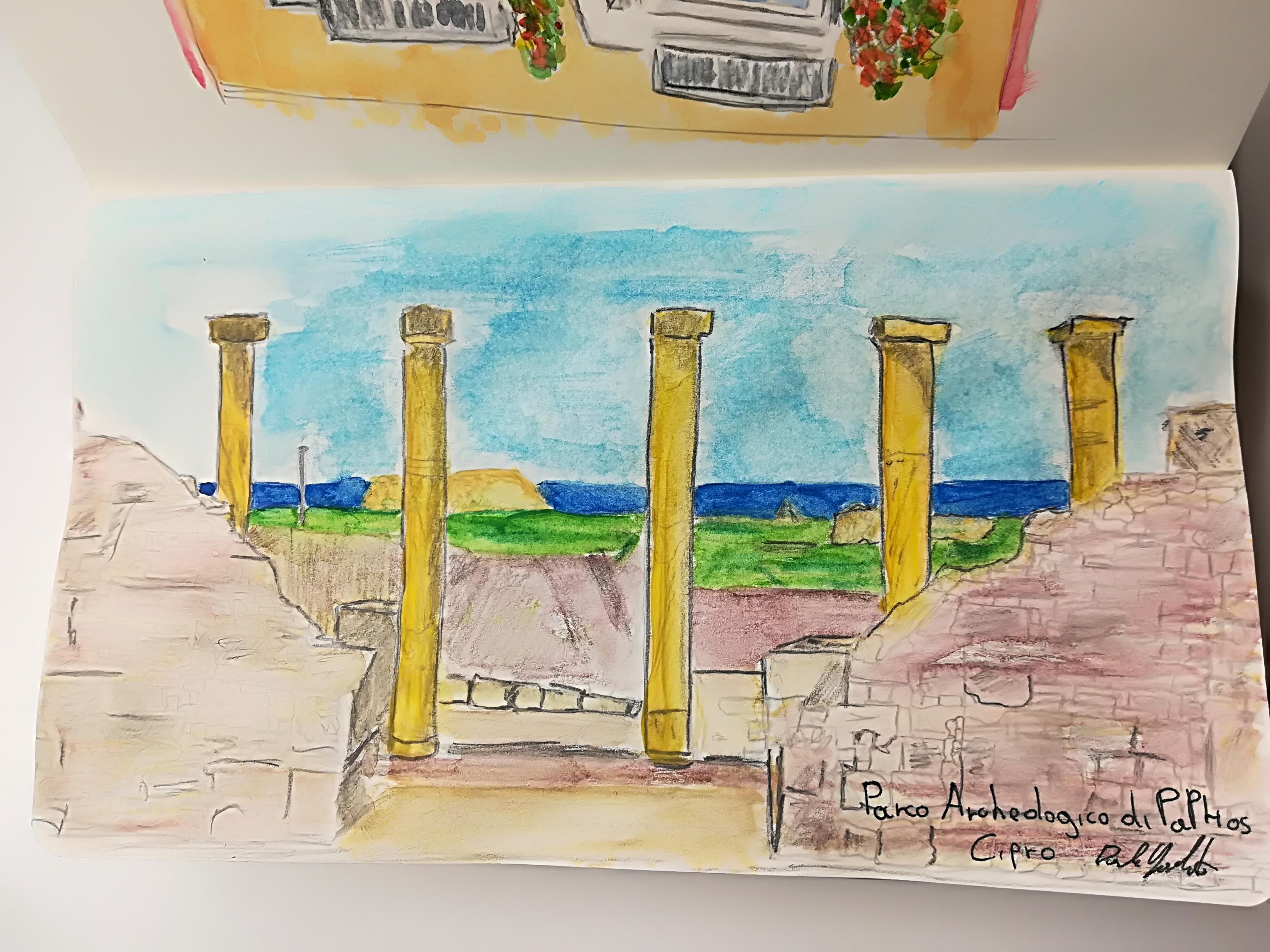 Parco archeologico a Cipro