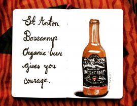 Beer gives you courage