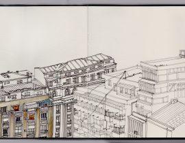 Buildings in Bucharest- w.i.p.