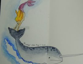 Mermay 2018; Day7; Narwhal