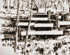 draft on Frank Lloyd Wright style