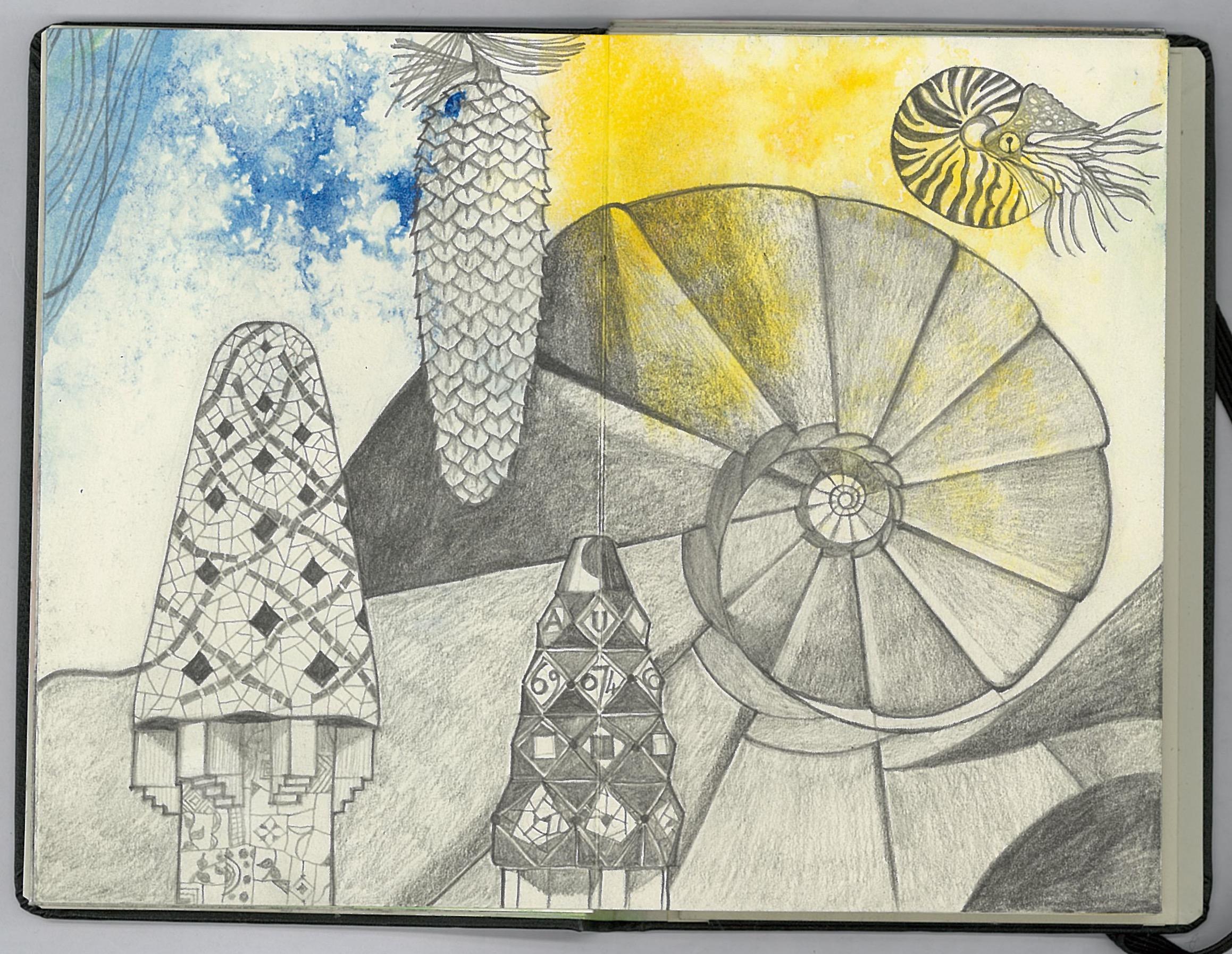 Gaudí drawing 6