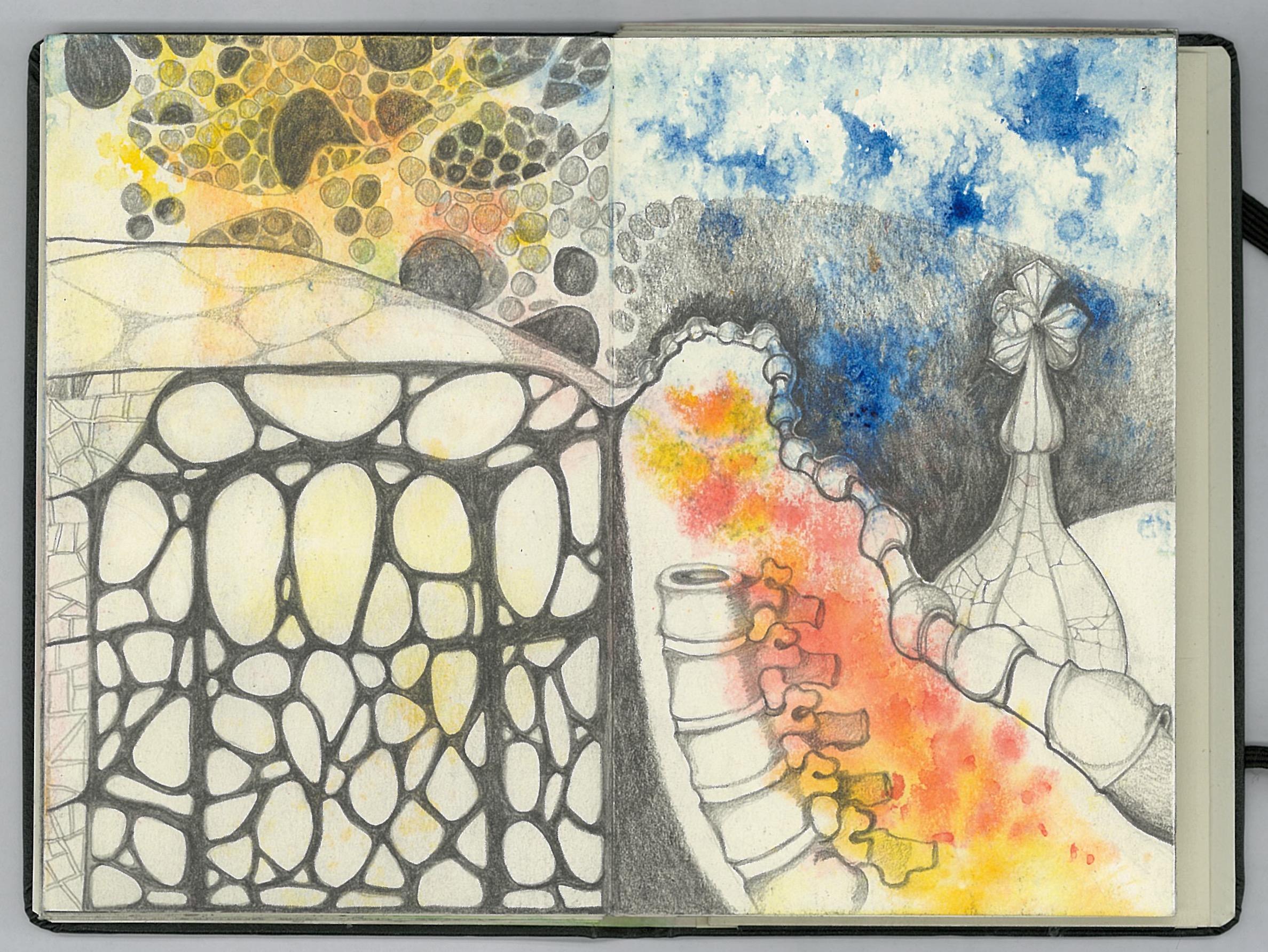 Gaudí drawing 5