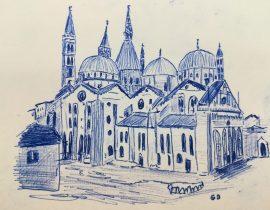 Basilica di Sant'antonio da Padova, Italy