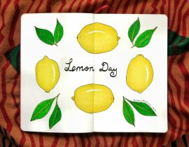 When life gives you lemons, turn it into something beautiful.