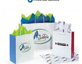 Custom Paper Bags in USA