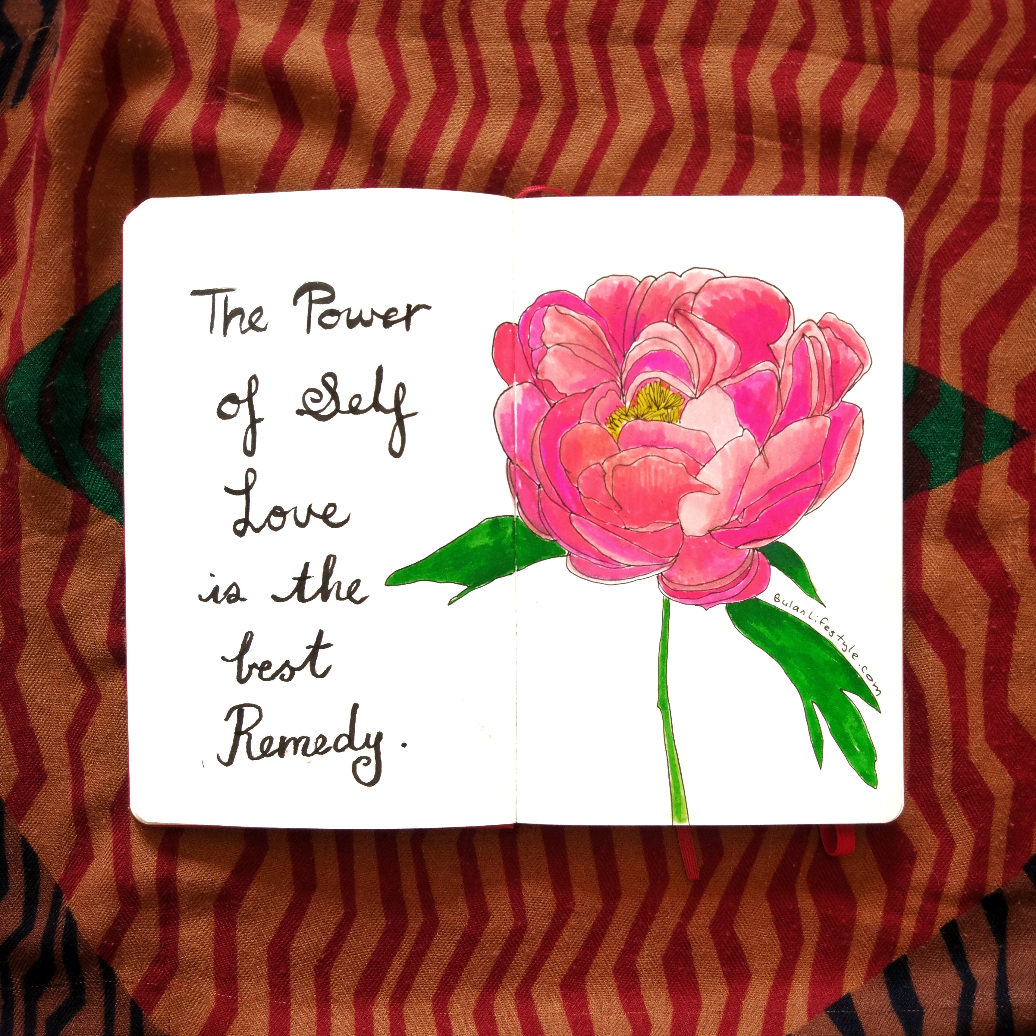 The power of self love is the best remedy.