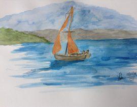 Sailing……
