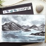 Loose Mountain Seascape