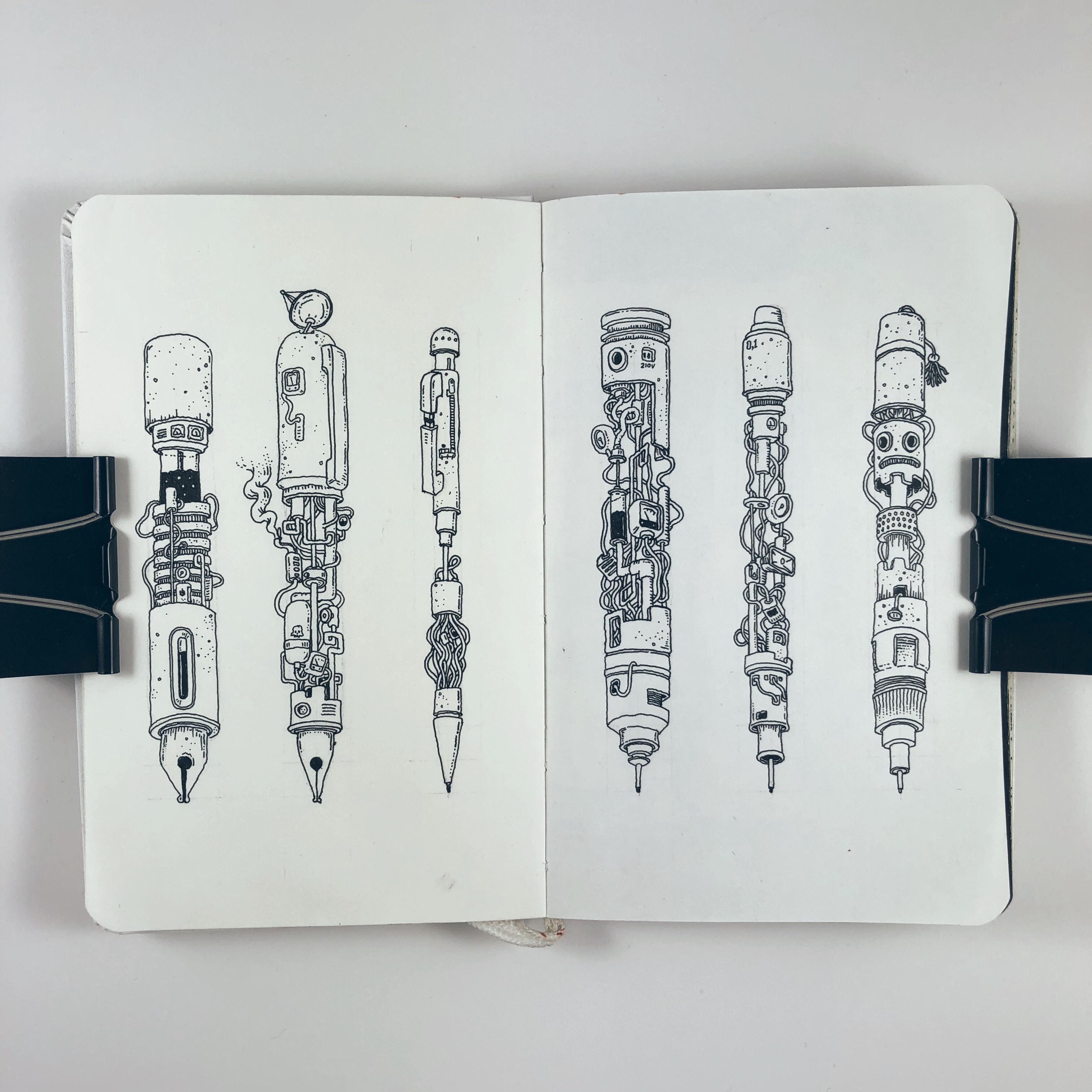 Ink machines