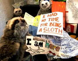 Packing means already being immersed in the trip that is in store for us. Eager to explore, know, be ready … there's no time for being sloths!!