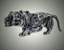 metallic panther