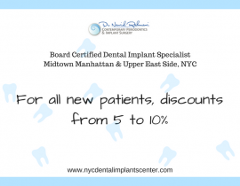 Discount for new patients