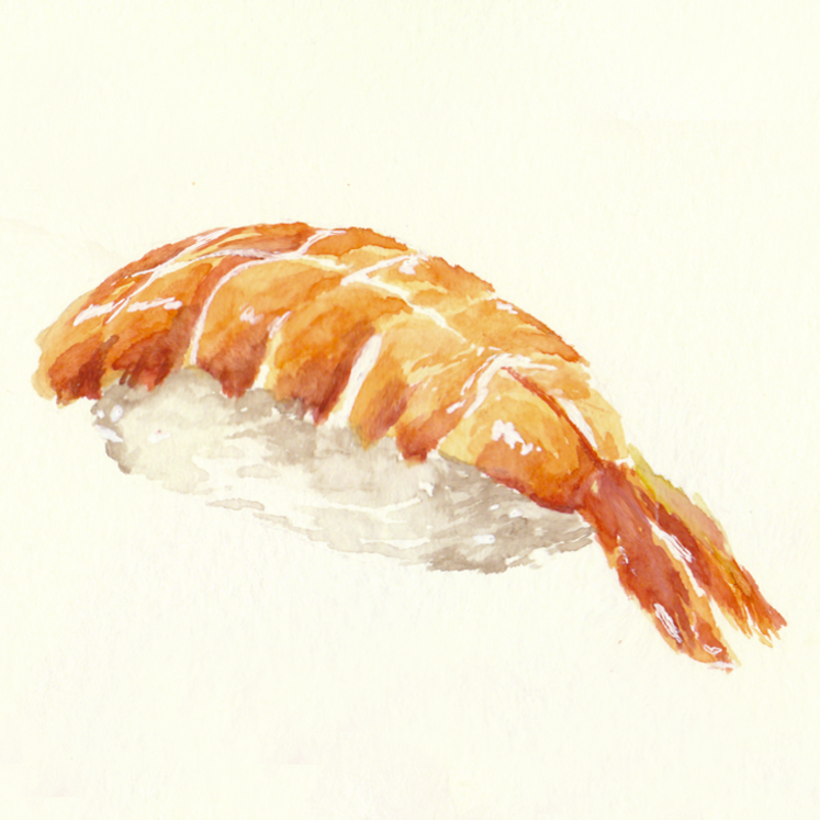 Day 1-5 Sushi Sketchtember