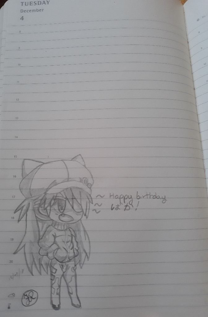Happy birthday baka!