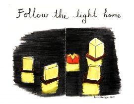 Follow the light home