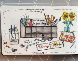 Sketch your desk