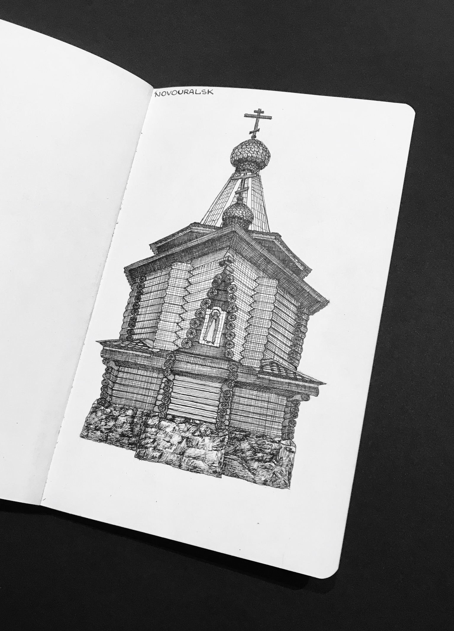 18th century wooden church