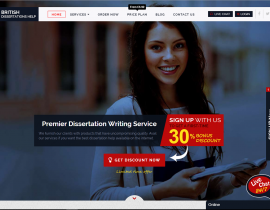 Dissertation Writing Services – British Dissertations Help