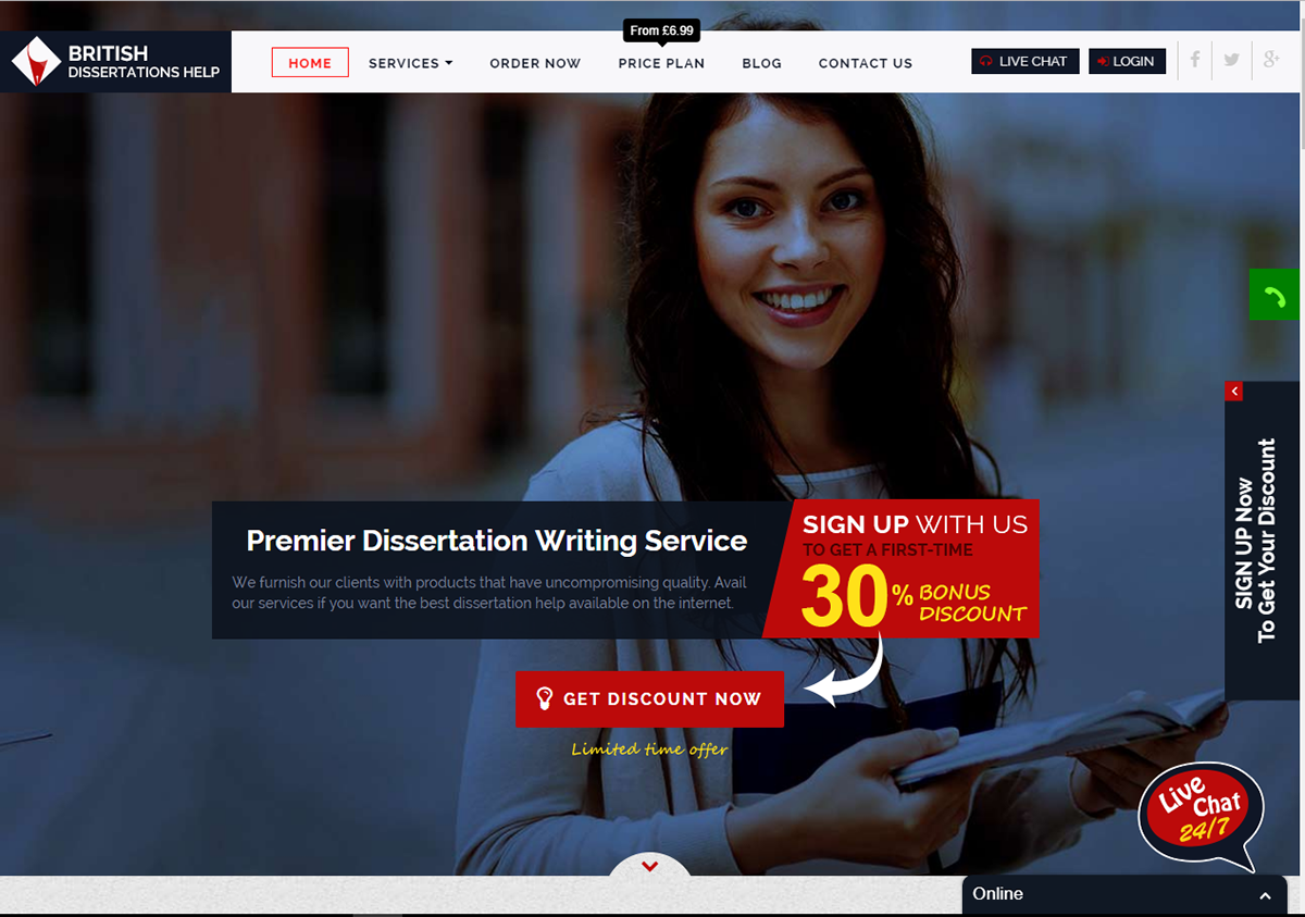 Dissertation Writing Services – British Dissertations Help