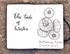 The taste of winter