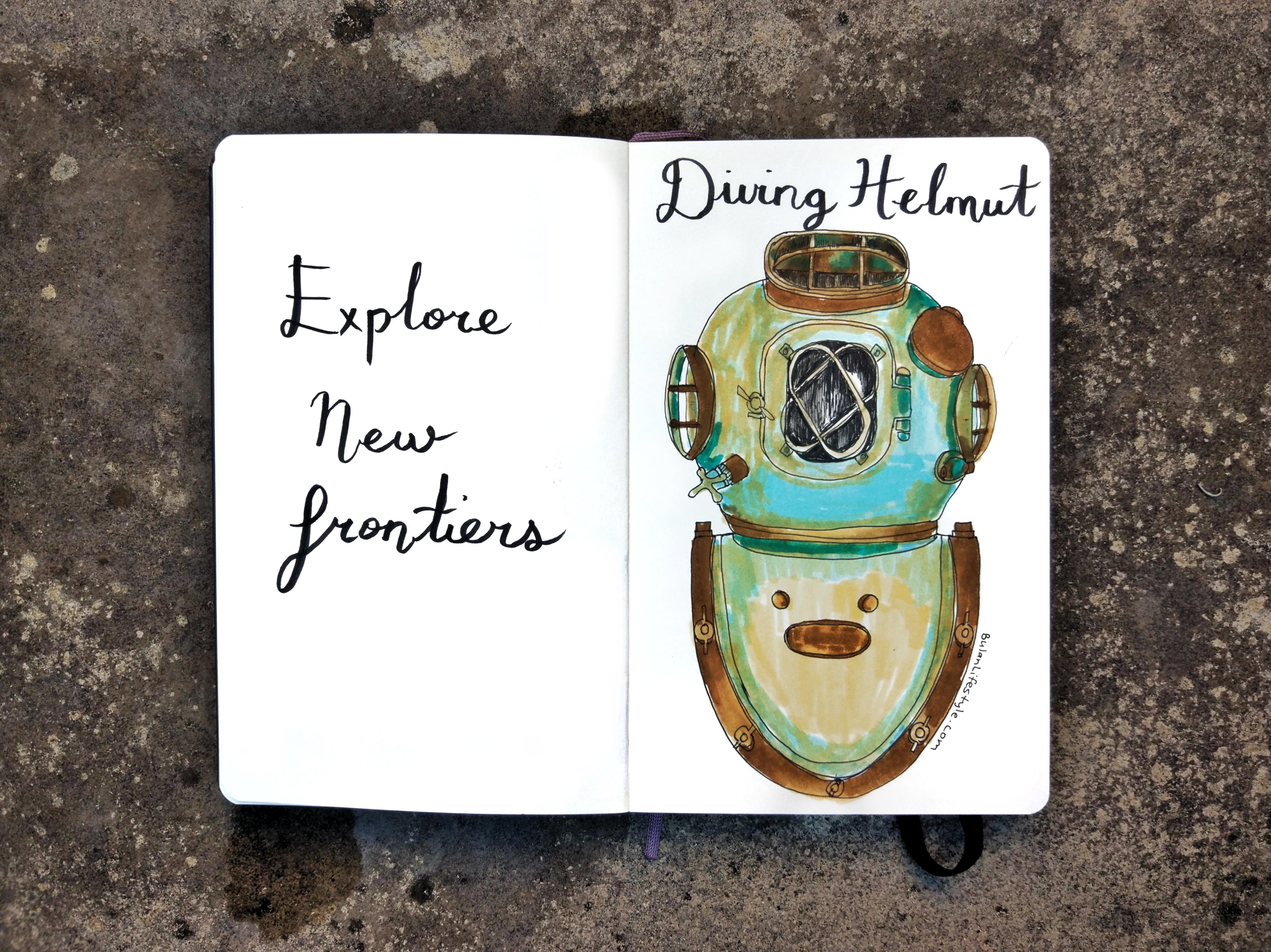 Explore new frontiers
