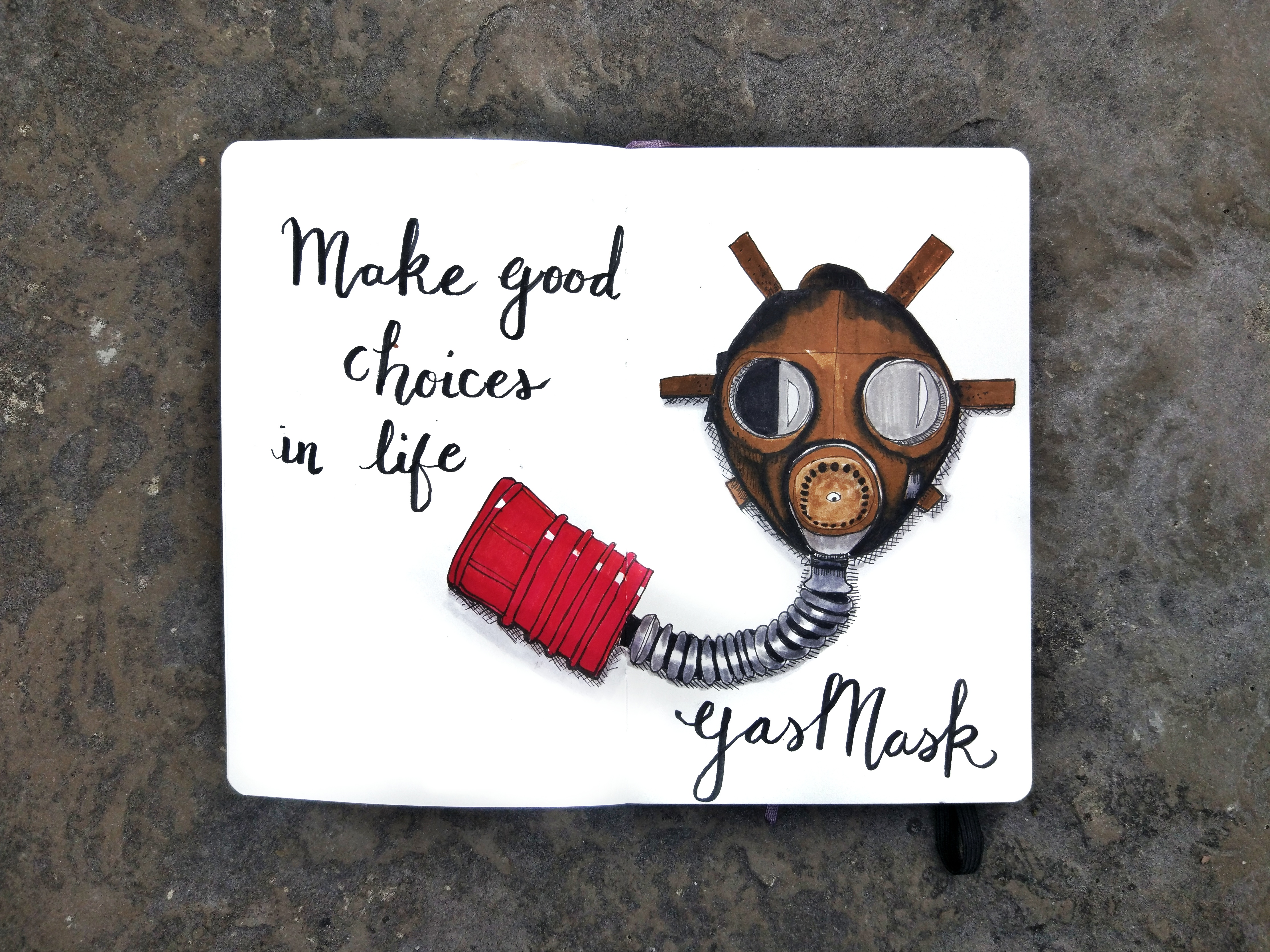 Make good choices in life