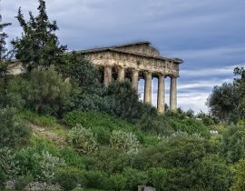 Ifestus (Hephaestus) temple