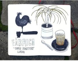 Coffee at Fabrica, Lisbon