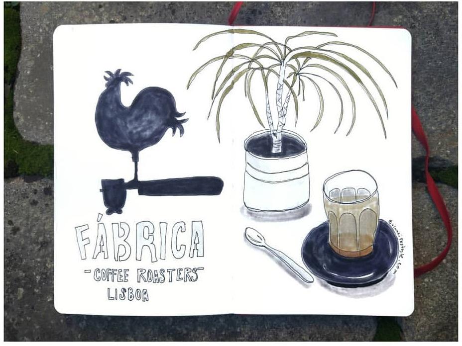 Coffee at Fabrica, Lisbon