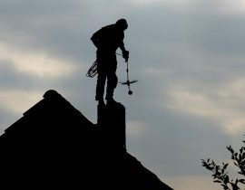 Chimney sweeps in Panama city