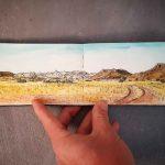 Campsite view  Namibia