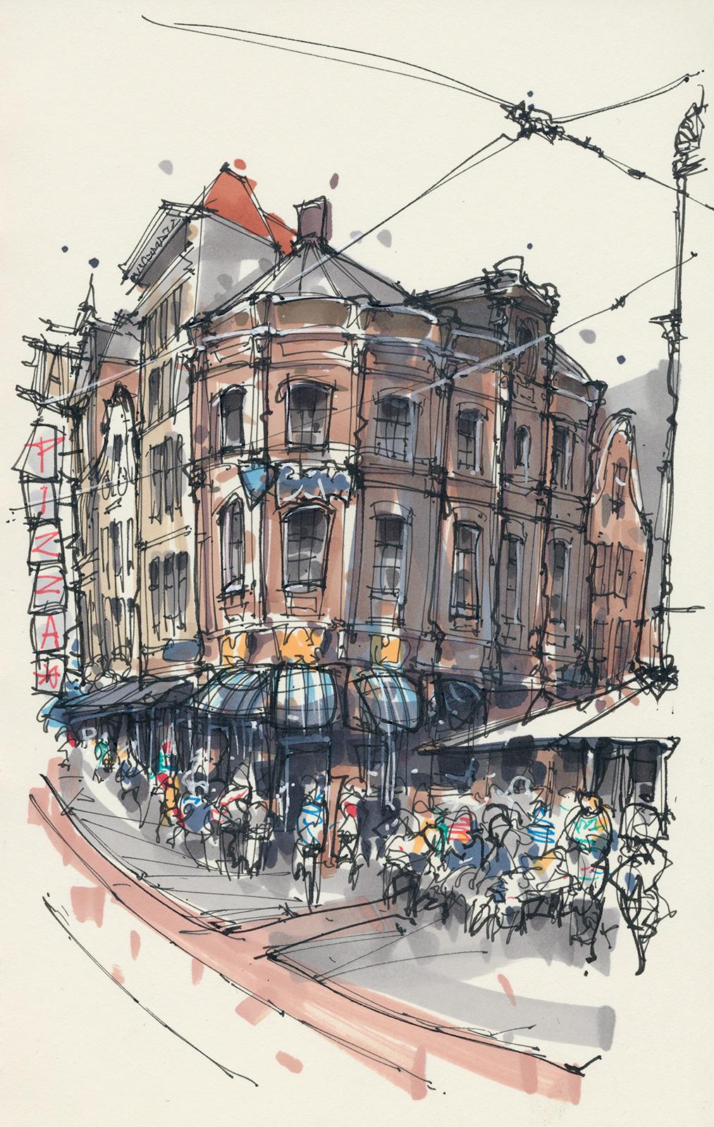 Reguliersbreestraat, Amsterdam