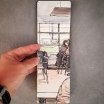 Sketch at the airport (Toulouse)