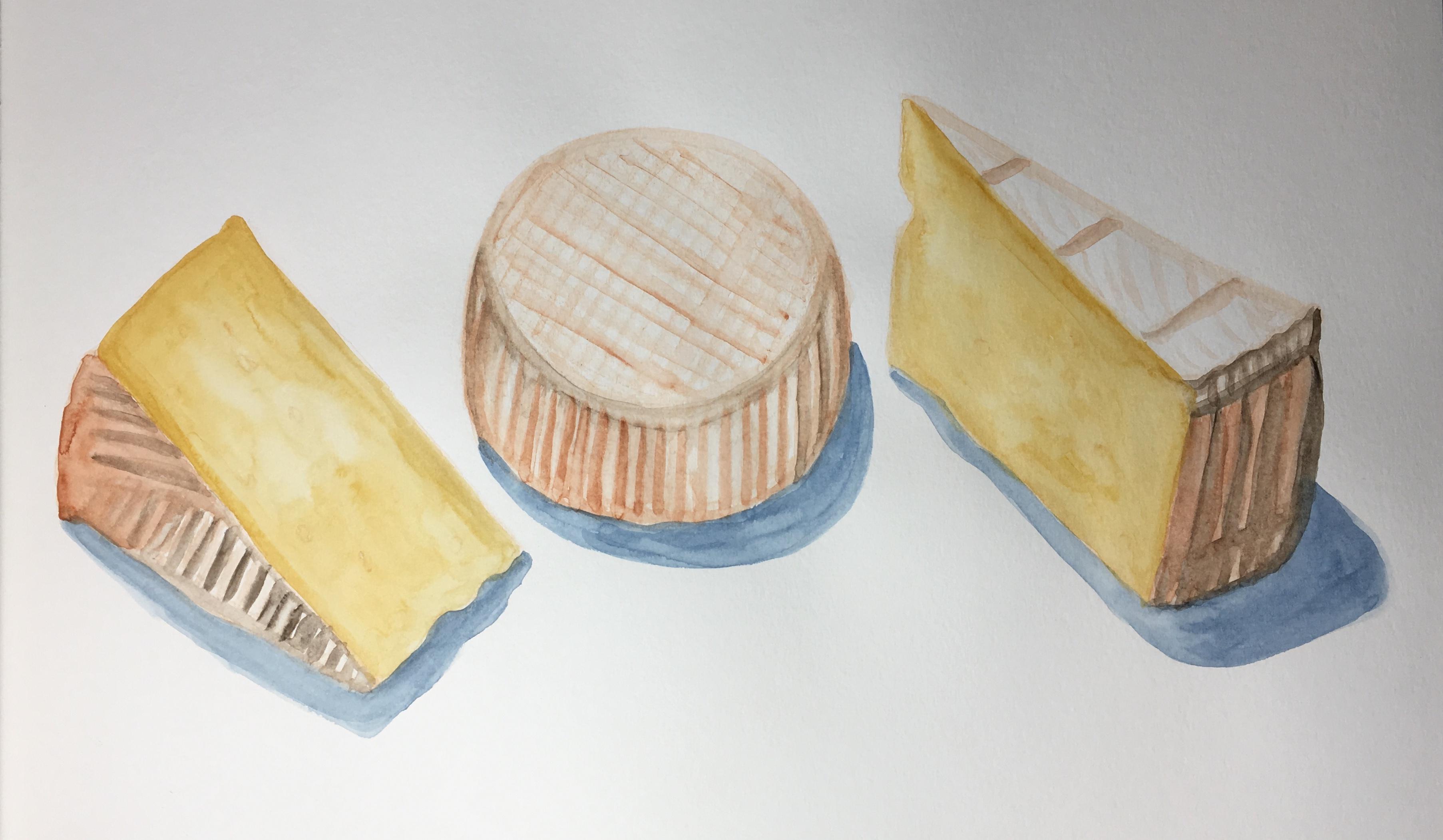 """Three cheeses"" December 2018"