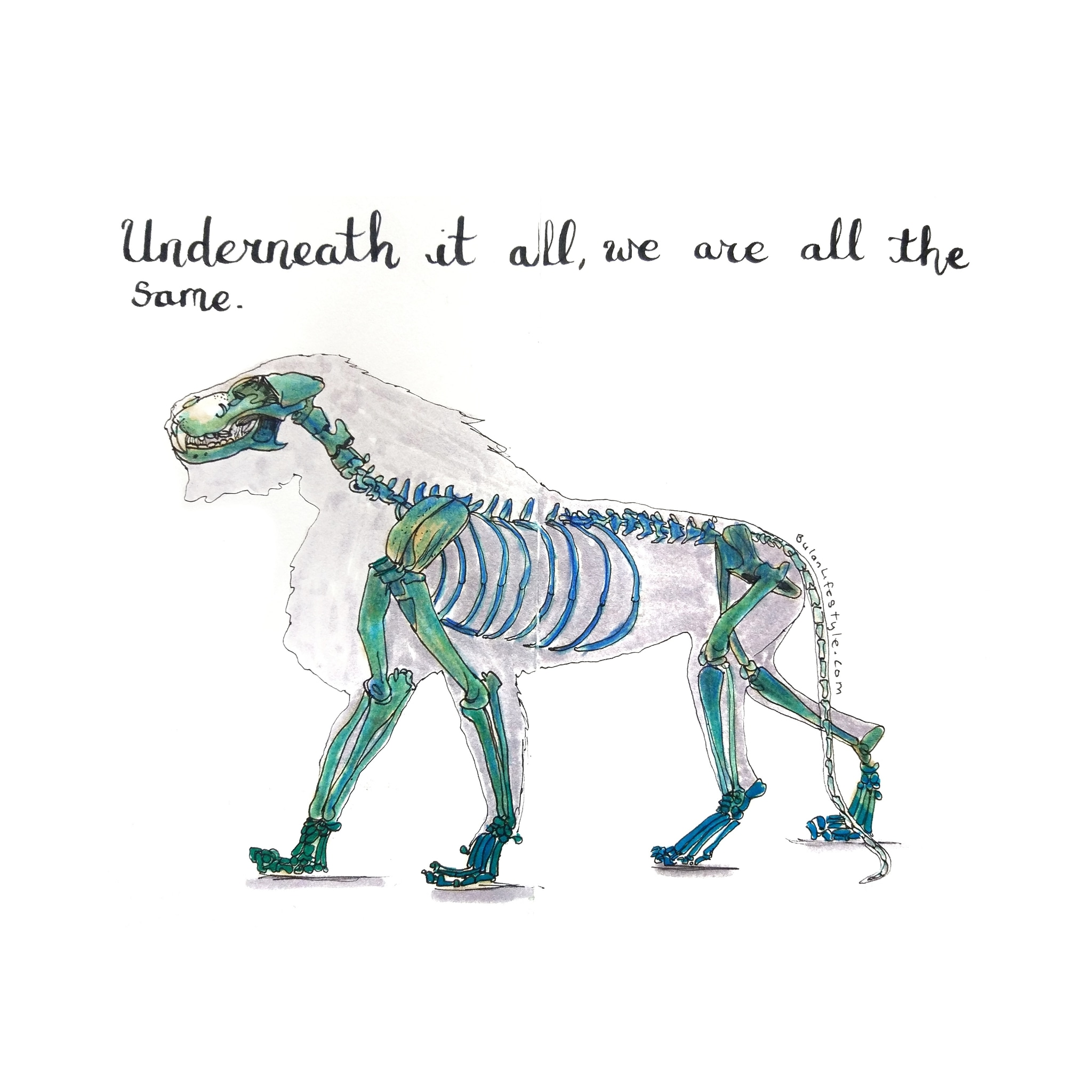 Underneath it all we are all the same