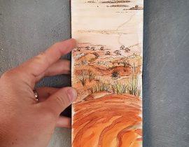 Dune sunset Namibia