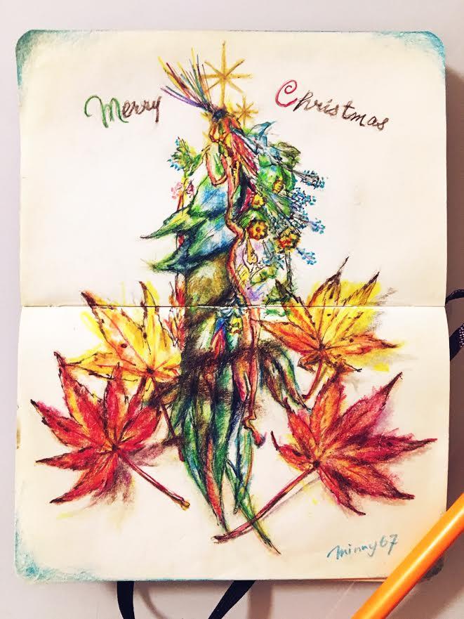 My Christmas Moleskine 2018