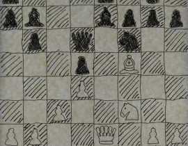 A study for a chess game