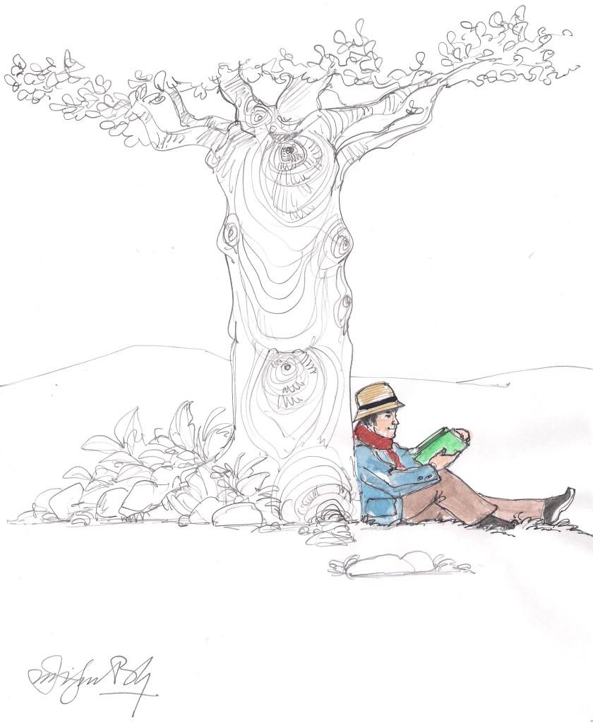 Árbol y lector