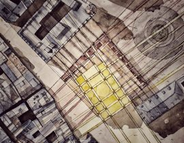 grid-like contraption