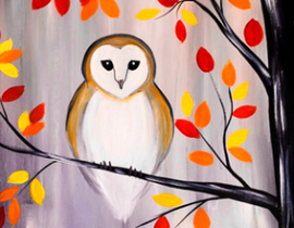 small autumn owl